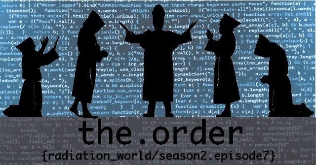 It's Friday and you know what that means. Space computer priests! Check out the new episode at www.radiation.world/season-2. #radiationworld #season2 #episode7