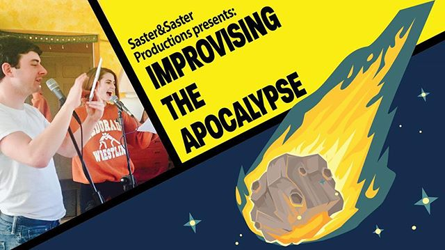 Only three days until our first ever live show! June 3rd, 8:00 pm, Hotel Andaluz, Albuquerque, NM. For more info: www.radiation.world/improv