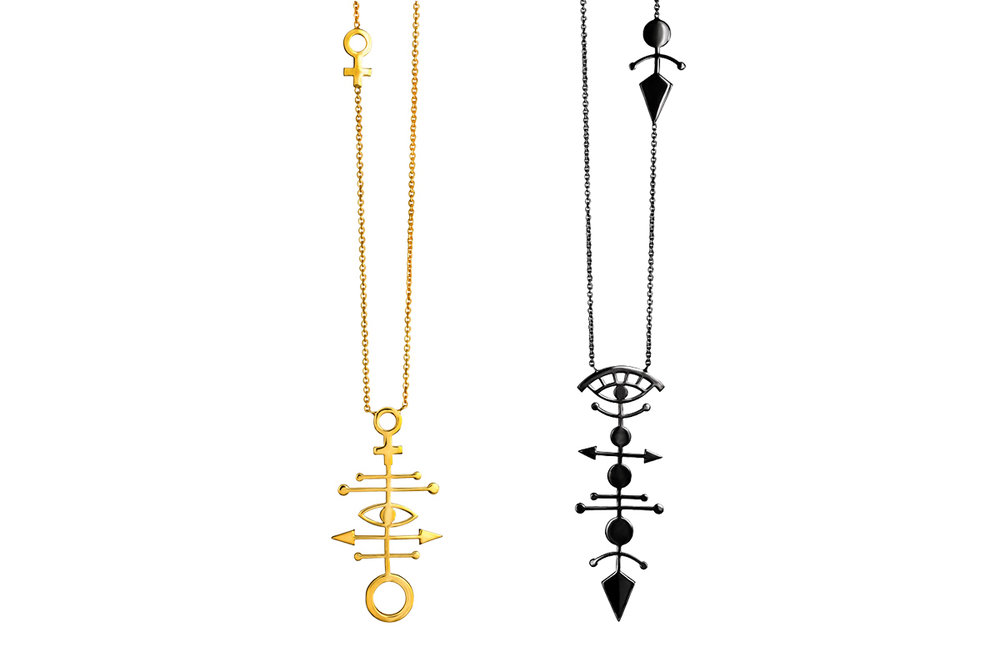 Pendants Gold/Platinum Plated Sterling Silver