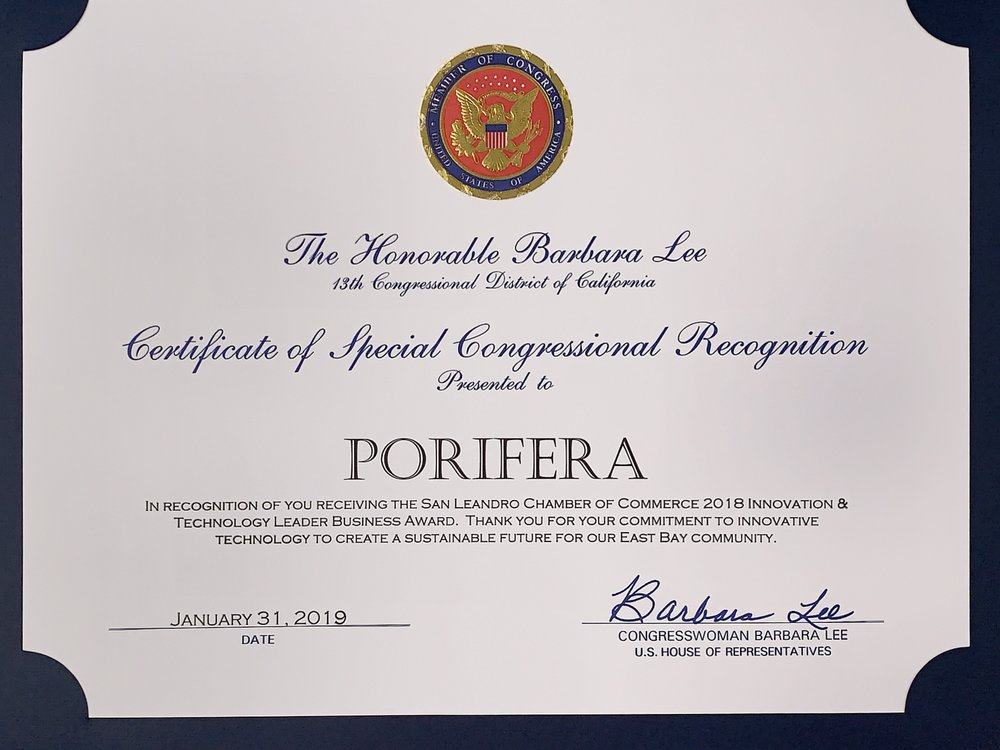 Congressional Recognition -