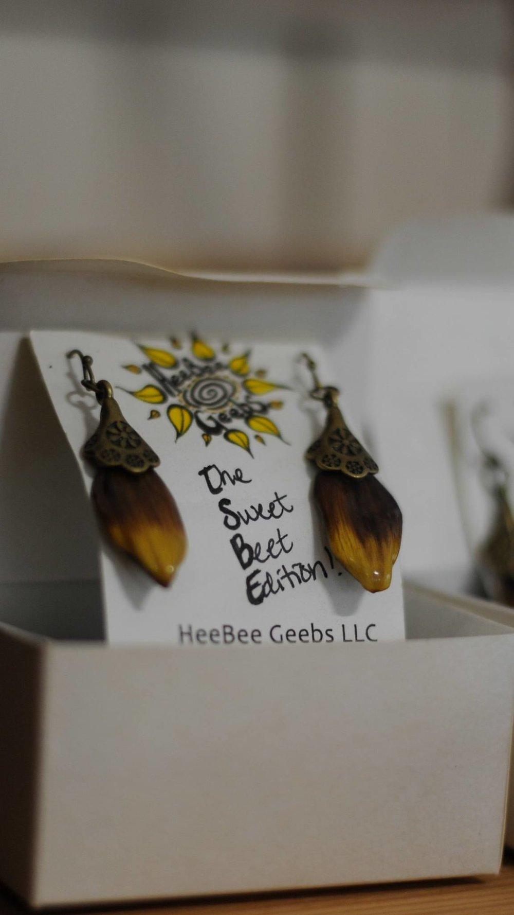 Sunflower Earrings!