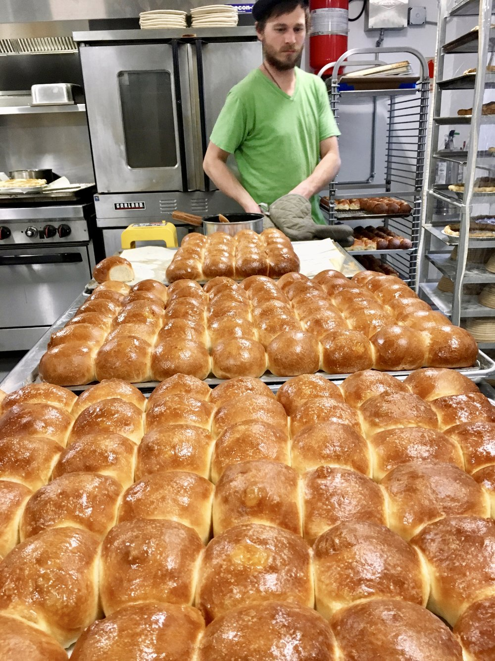 Dinner rolls for the holiday season.