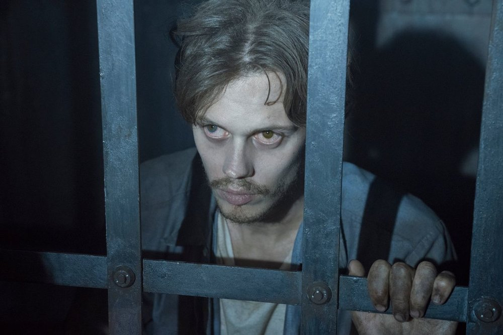 "Bill Skarsgård as ""The Kid"" in The Hulu Orignal  Castle Rock  P  hoto Courtesy Of Vox.Com"