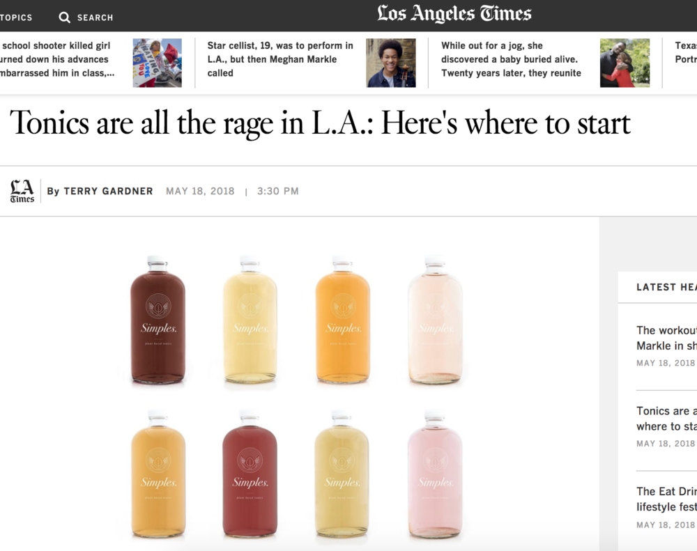 L.A. TIMES - MAY 2018