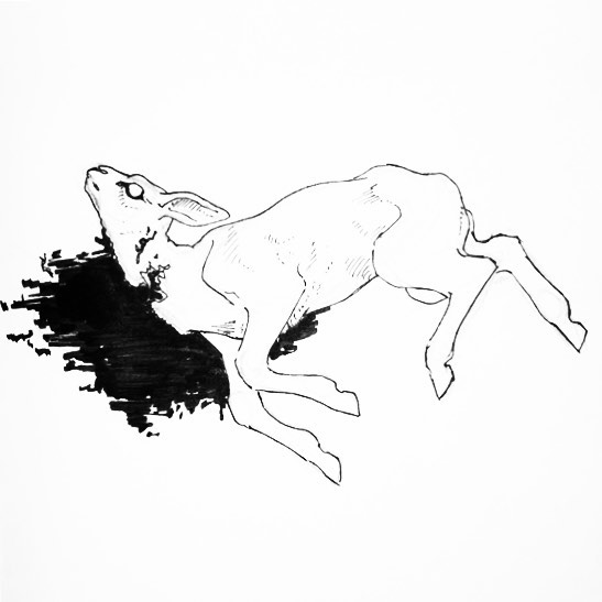"""You followed as he fattened you up with words you knew were lies. Now look at where you find yourself."" . . . The Slaughter for Inktober day 16: ""Fat"" . . . #illustration #inktober #inktober2017 #inktoberday16 #inktoberfat #inkillustration #inkdrawing #lamb #slaughter #slaughtered #slaughteredlamb #deadlamb #tornthroat #wolfattack #ink #blackandwhite #pentelhybridtechnica #tombowfudenosuke"