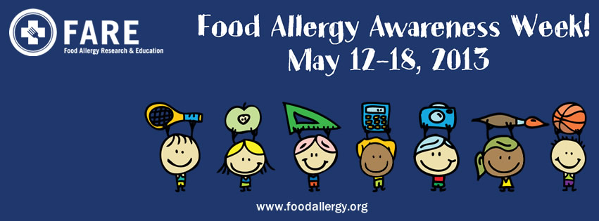 food allergy awareness week banner