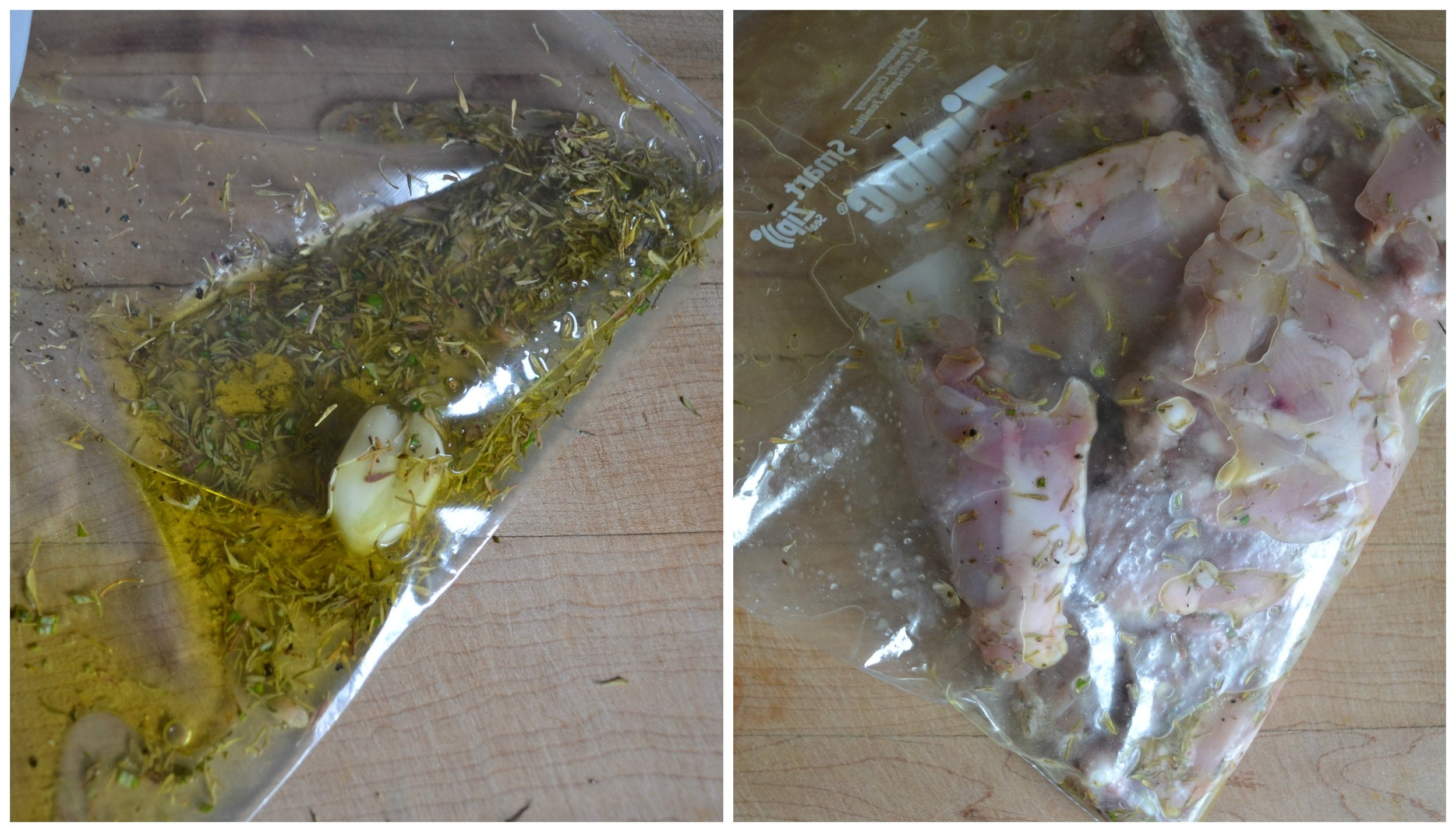 Lemon Thyme Chicken Marinade