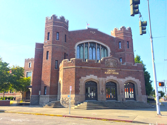 Lincoln High School's Drost Auditorium