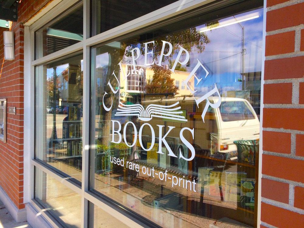 Culpepper Books opened in 1999.