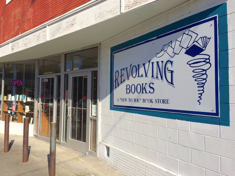 "Revolving Books: A ""New To You"" Book Store"