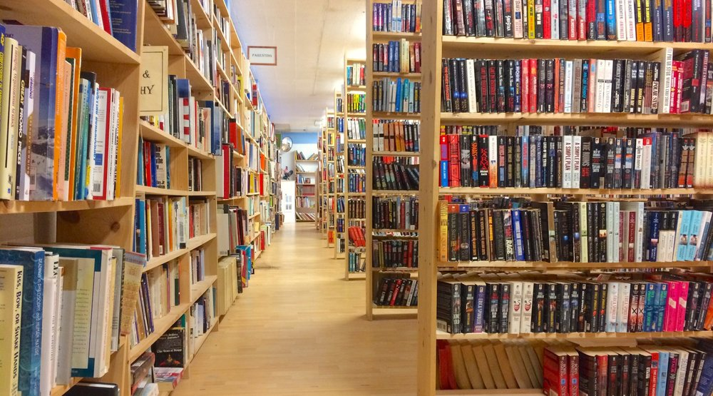 Revolving Books focuses on mass market paperbacks.