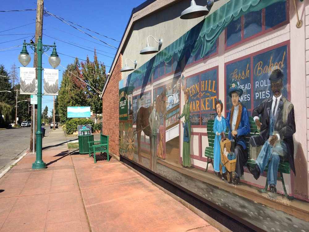 Old Timey Mural