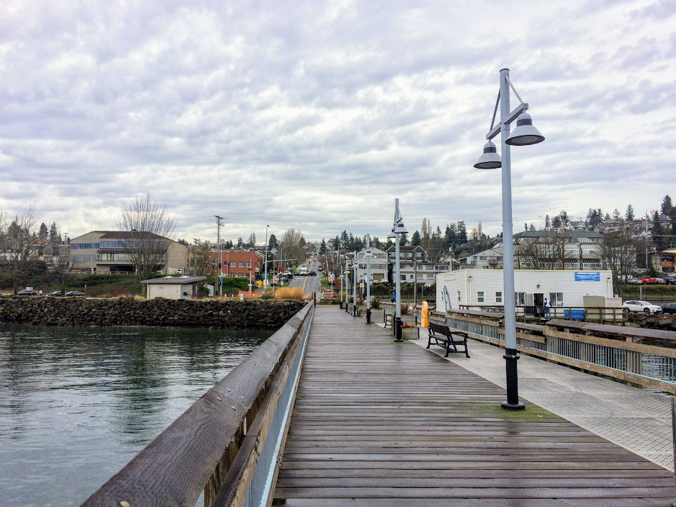 The Old Town Dock reopened in 2013. It's a great place to take a walk with family, watch the weather, and get out over the water.