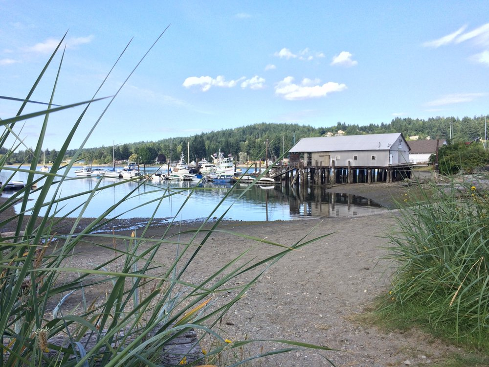 Eddon Boat Park on the Gig Harbor waterfront
