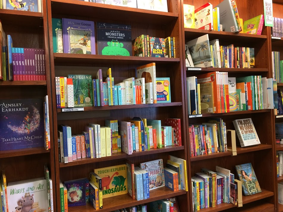 A look at the University Book Store's Children's Section.
