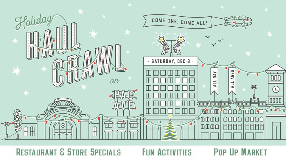 Image from    Downtown Tacoma Holiday Haul Crawl