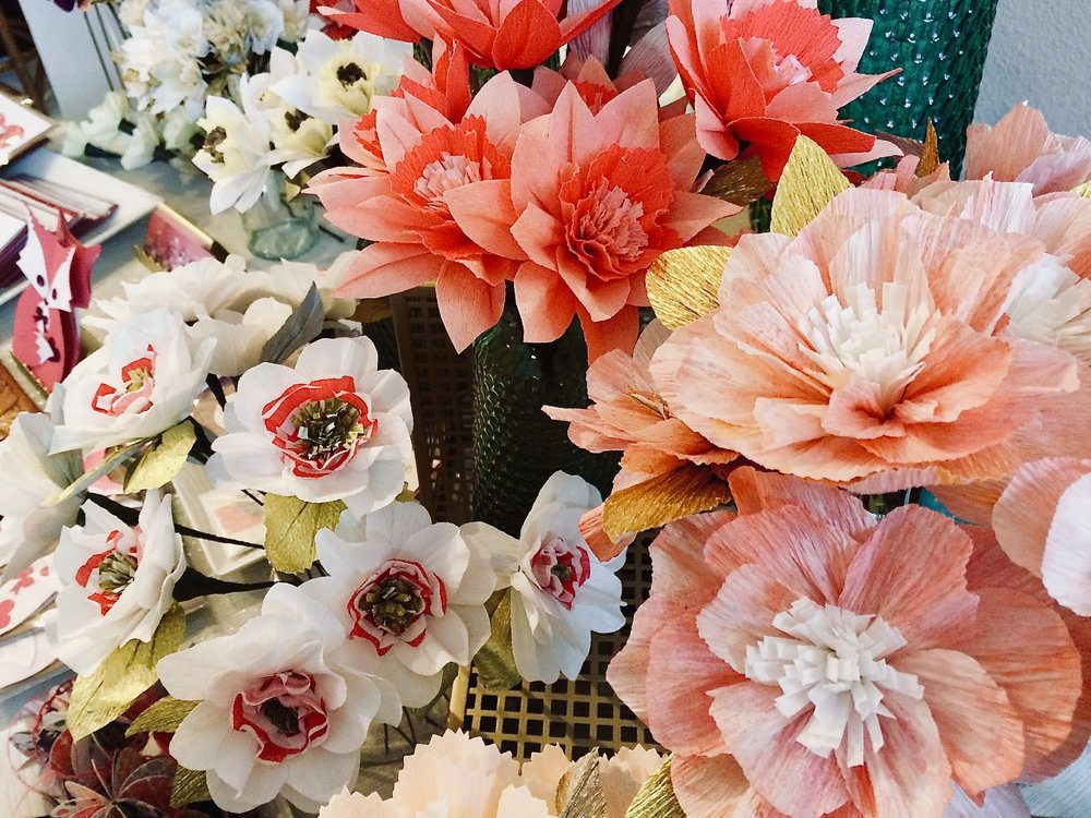 Fell in love with these paper flowers by  Laurie Cinotto  last February at a  GRLS Studio  makers market. Take a look at our list below for events featuring local makers.