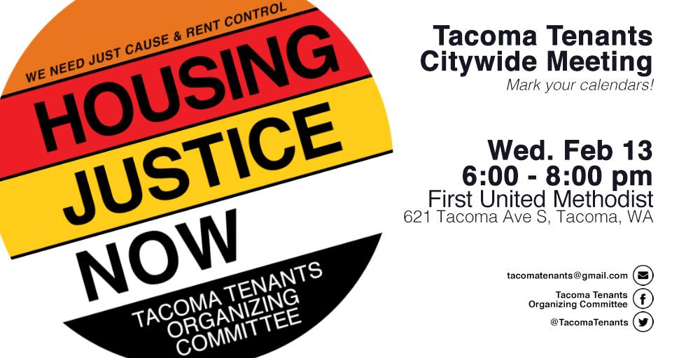 Image from    Tacoma Tenants Organizing Committee