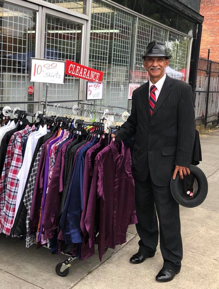 Mr Mac Ltd, on the corner of Martin Luther King Jr Way & Earnest S Brazil St has been in business since 1957! Image from  Hilltop Action Coalition
