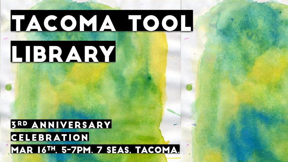 Image from    Tacoma Tool Library