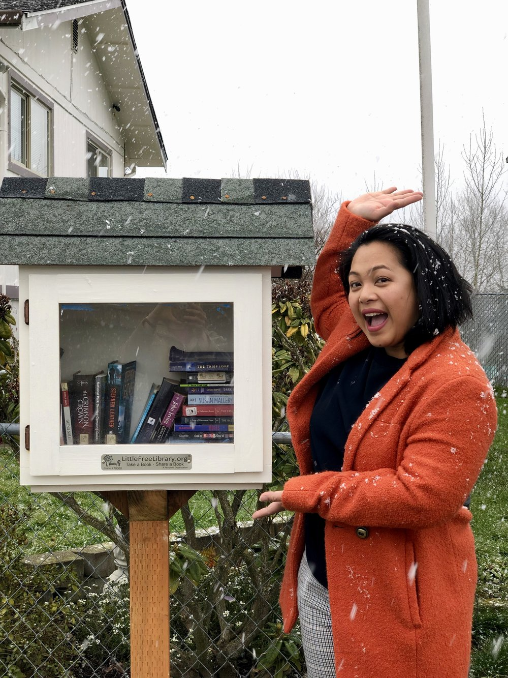 By the time you finish this article we hope you're as excited as Melo Hogan about Little Free Libraries!