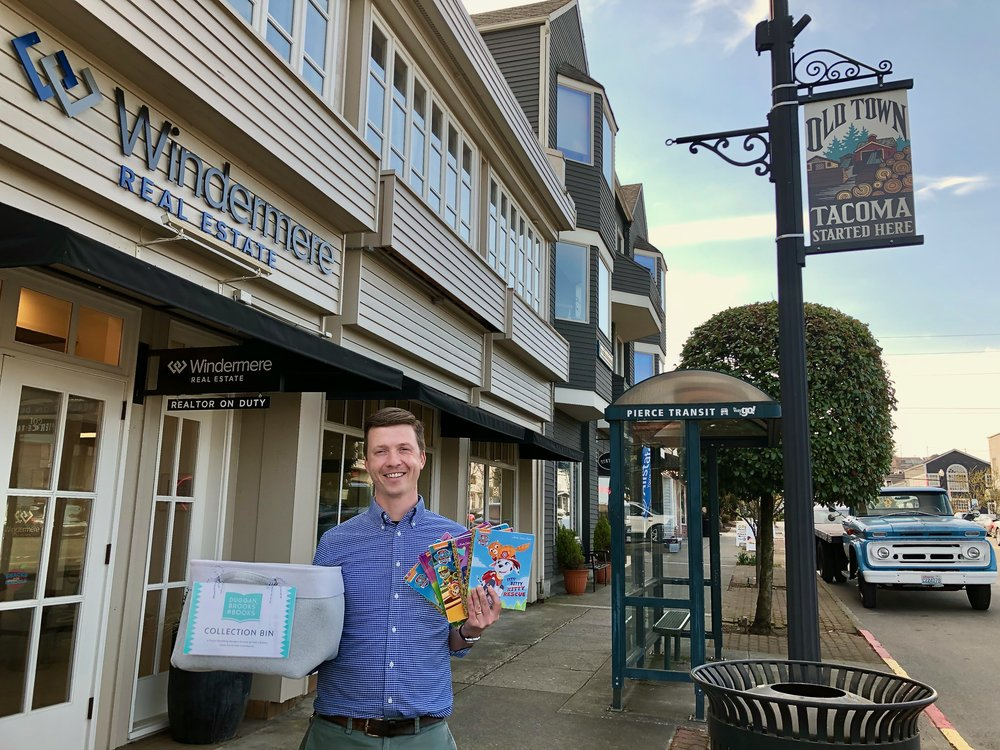 "Bring your books down to the Windermere Abode office in beautiful Old Town and say ""hi"" to Michael!"