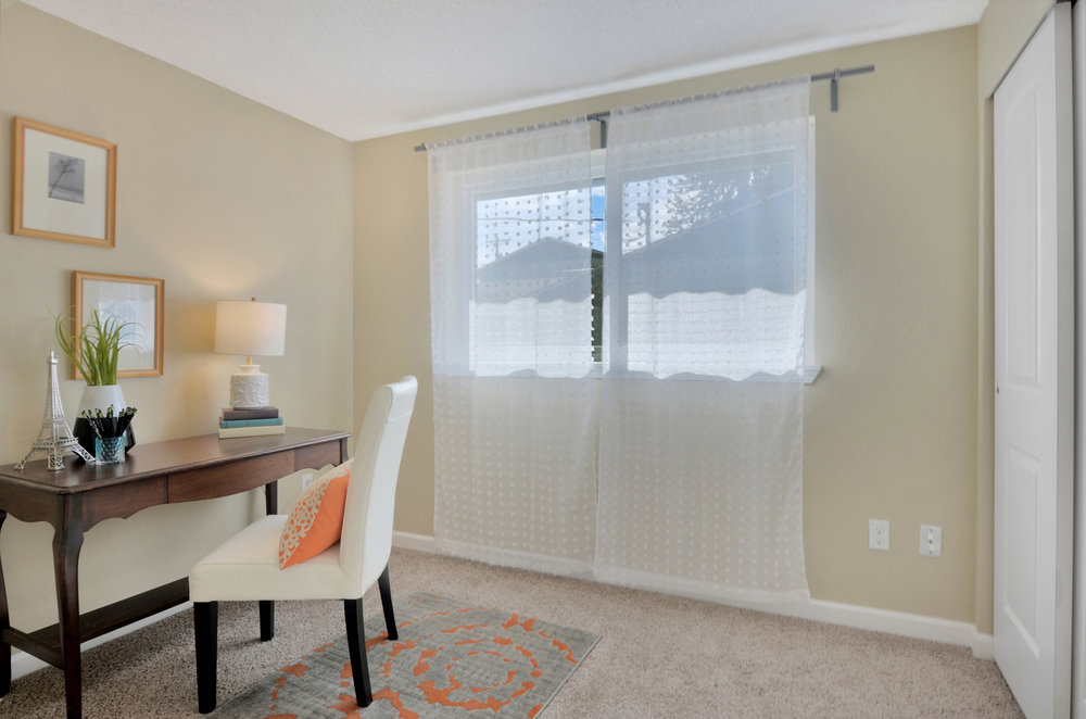 This 3rd bedroom makes a perfect room for kids or guests, or could even be set up as an office or play room depending on your needs.