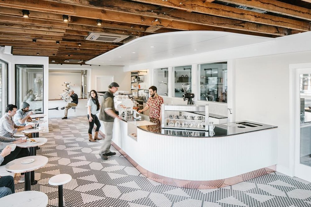 Image from    Olympia Coffee Roasting Co.  , just a 5 minute drive away in Proctor