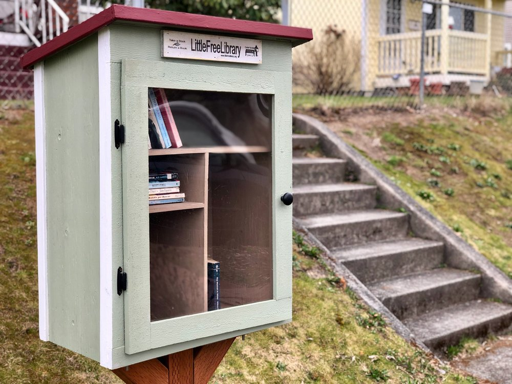 Help us stock the M Street Branch with all kinds of good books! Read about our book drive below.