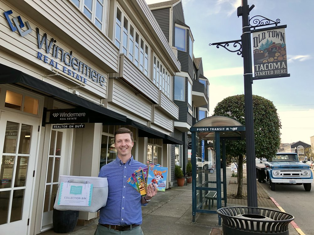 """Bring your books down to the Windermere Abode office in beautiful Old Town and say """"hi"""" to Michael!"""