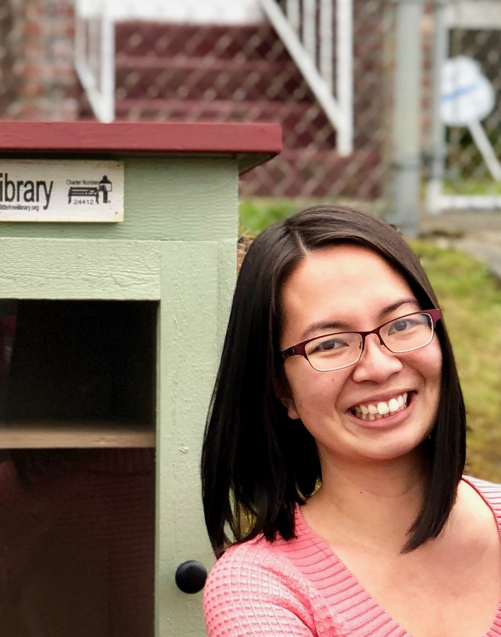 We're so grateful to Julia for sharing her thoughts and ideas about Little Free Libraries!