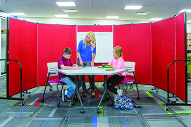 Screenflex Room Dividers - School