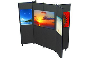 Screenflex Display Towers
