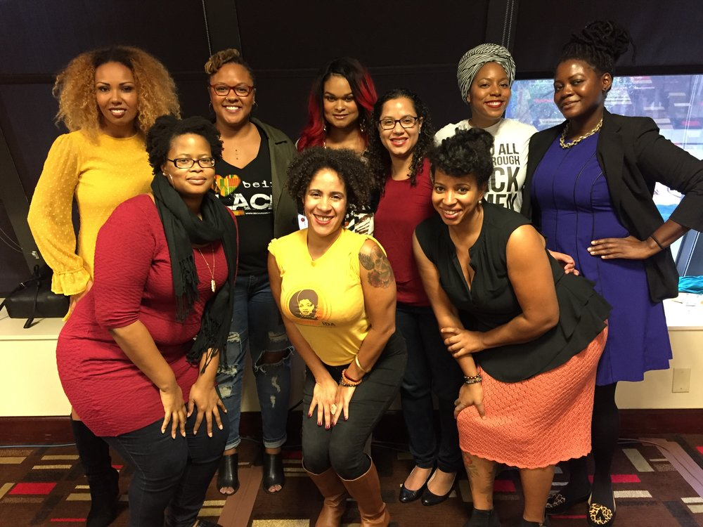 Gathered with social justice leaders at Facing Race in Atlanta, November 2016.
