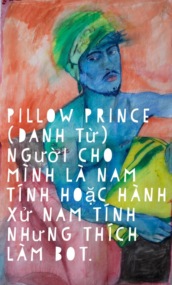 PILLOW PRINCE  👑  A masculine presenting person who LOVES to bottom out. (Portrait of Kory Coons by Gabby Miller)