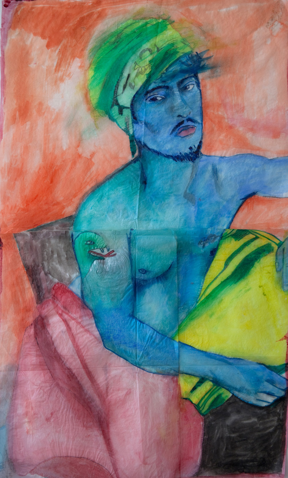 Significant Other (Kory Coons), Watercolor on Paper. 2013.