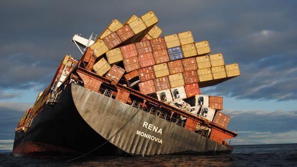 shipwrecks in general - spillages