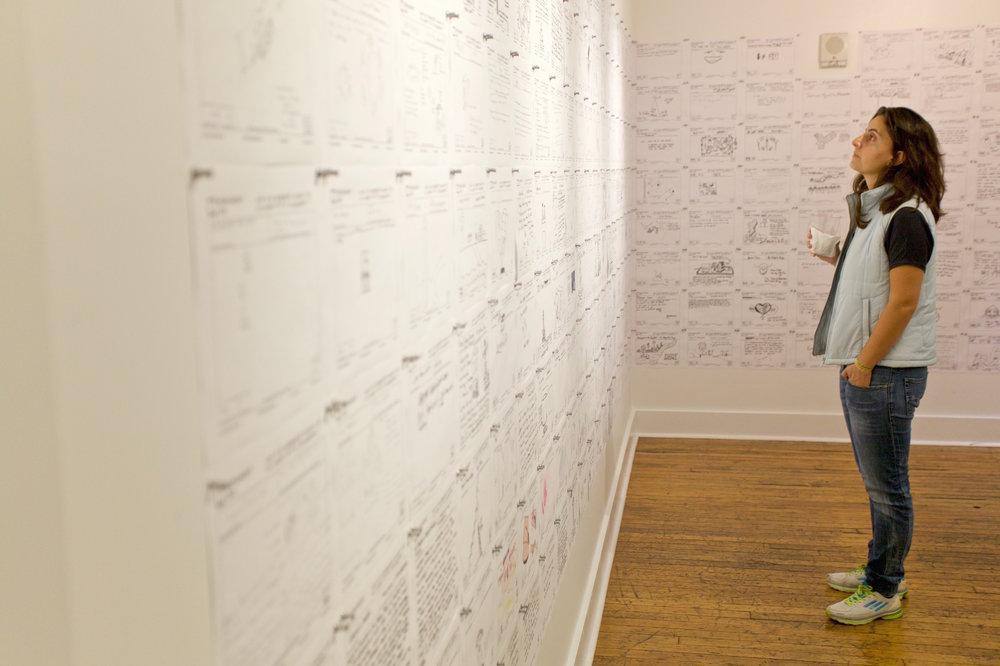 Monument Lab  Exhibition at the Philadelphia Center for Architecture (Photo: Caleb Eckert/Monument Lab)