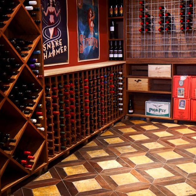 Another amazing #wineceller by @antiquefloors at #leichhardt This time with a gorgeous #monticello #parquetry floor in #recycledhardwood and Travertine. #interiordesign #interiordecor #architecture #sydney #sydneystyle #sydneydesign #sydneyinteriors #sydneybuilder #sydneyarchitect #melbourne #melbournestyle #melbournedesign #melbourneinteriors #melbournebuilder #melbournearchitect #mosman #doublebay #bondibeach #toorak #bowral #balmain #rozelle #leichhardt #antiquefloors
