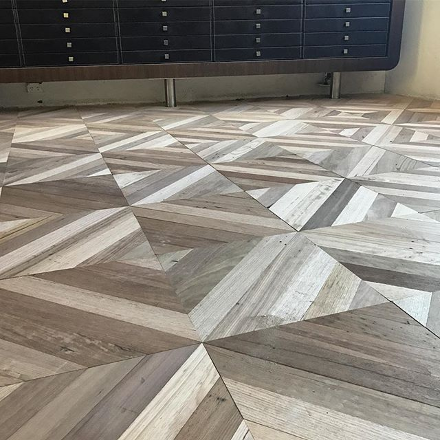 A sneak peek of the stunning #custom #recycledhardwood #reducingsquare #parquetry floor going down in the @opalmindedsydney store by @antiquefloors #herringbone #chevron #marieantoinette #versailles #sydney #sydneystyle #sydneydesign #sydneyinteriors #sydneybuild #sydneyarchitecture #melbourne #melbournestyle #melbournehomes #melbournedesign #melbournearchitecture #melbourneinteriors #mosman #doublebay #bondi #bowral #toorak #balmain #rozelle #leichhardt #antiquefloors
