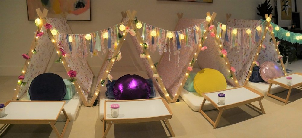 Kids Slumber Party Hire Melbourne Enchanted Theme