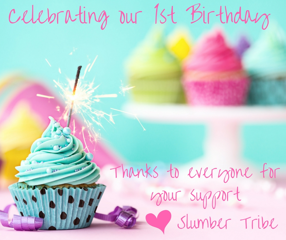 slumber tribe first birthday