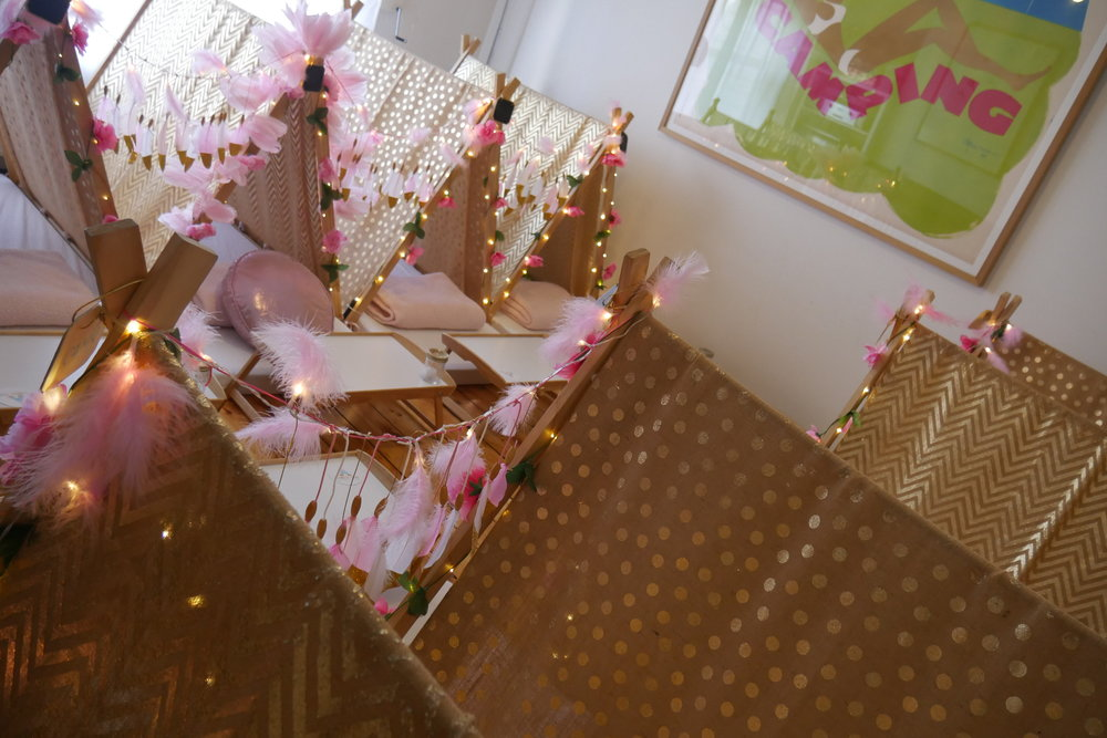 tribal princess slumber party hire