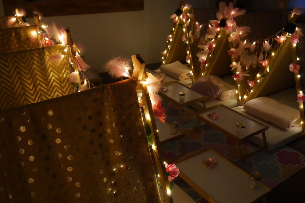 princess teepee slumber party hire melbourne