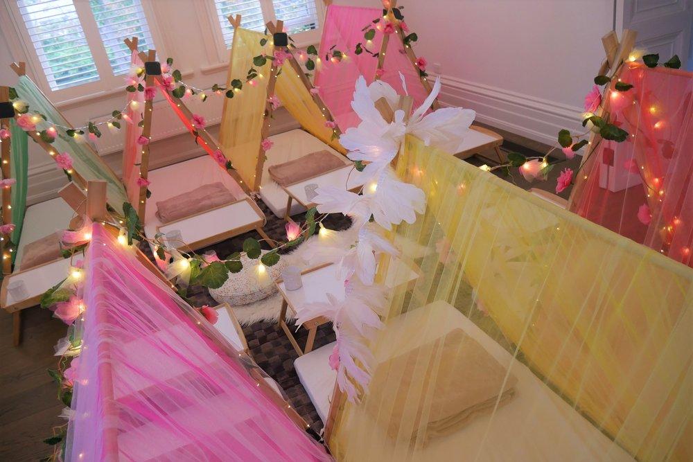 Kids Slumber Party Tribal Princess Theme