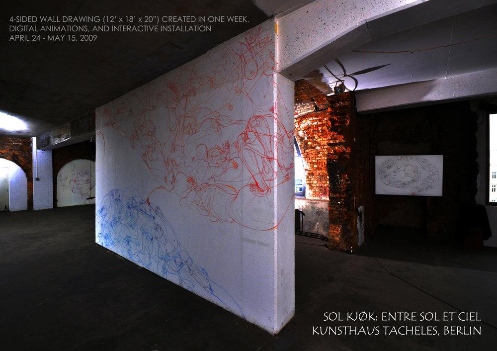 Entre Sol et Ciel, Kunsthaus Tacheles, Berlin