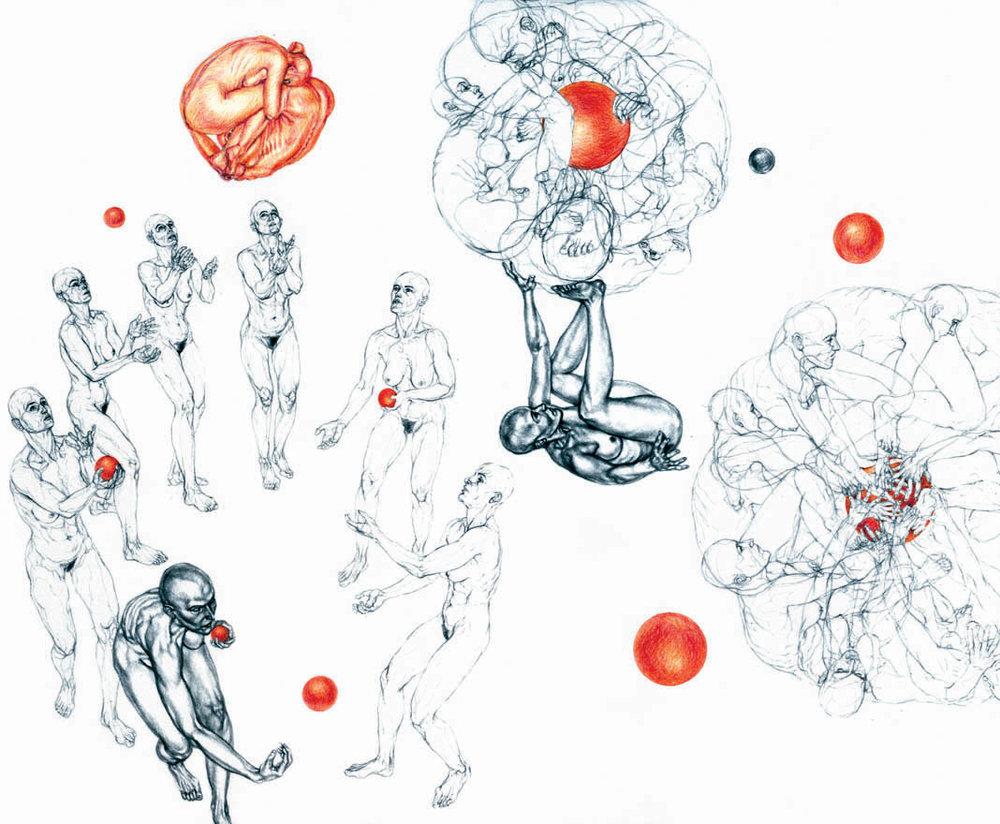 Circus (Swirling XX), 2001
