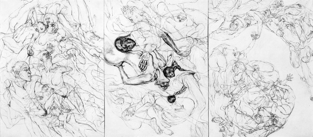 Swirling VI, 1999-2000 (triptych)
