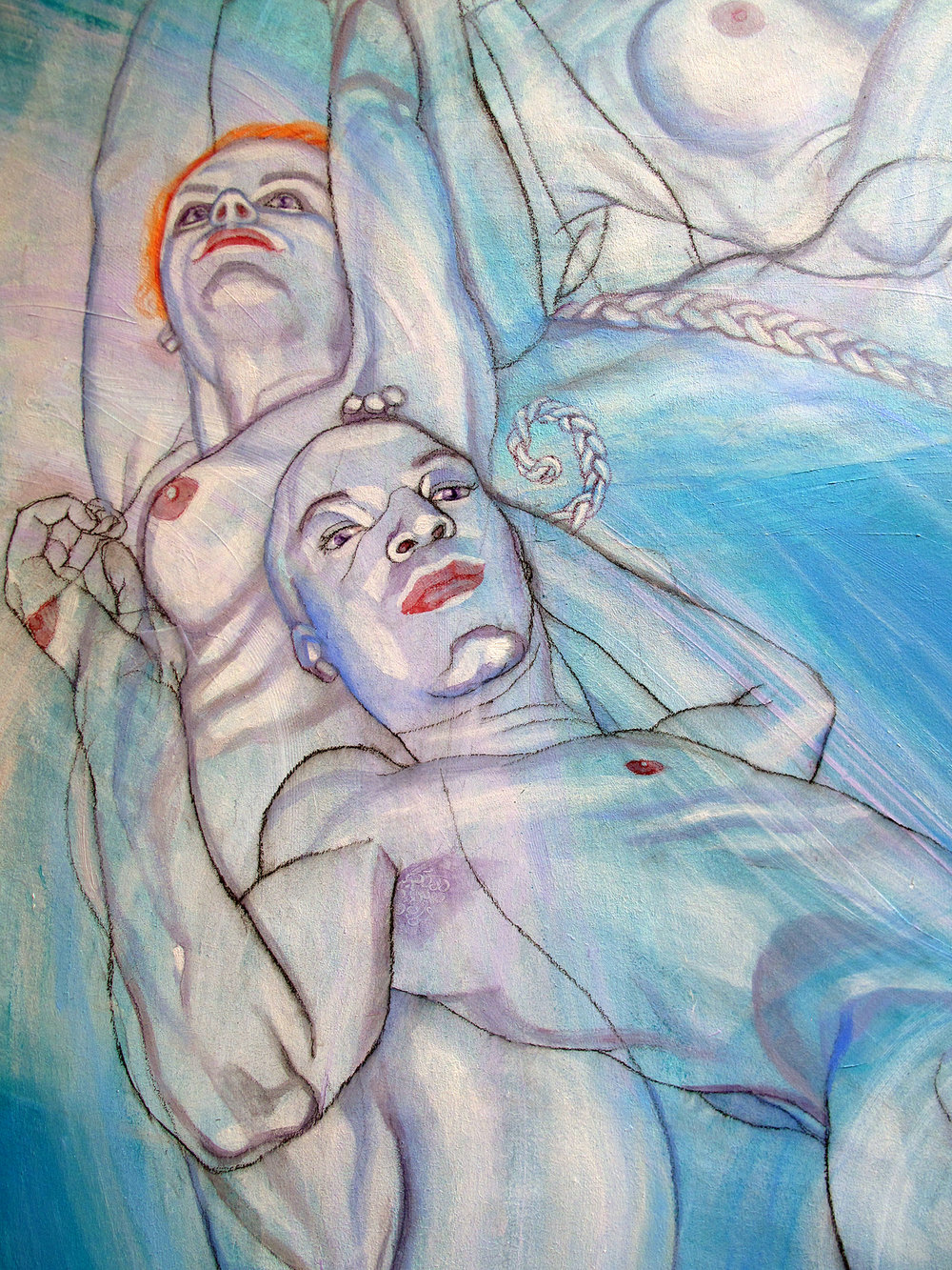 Like White Smoke III (Detail)