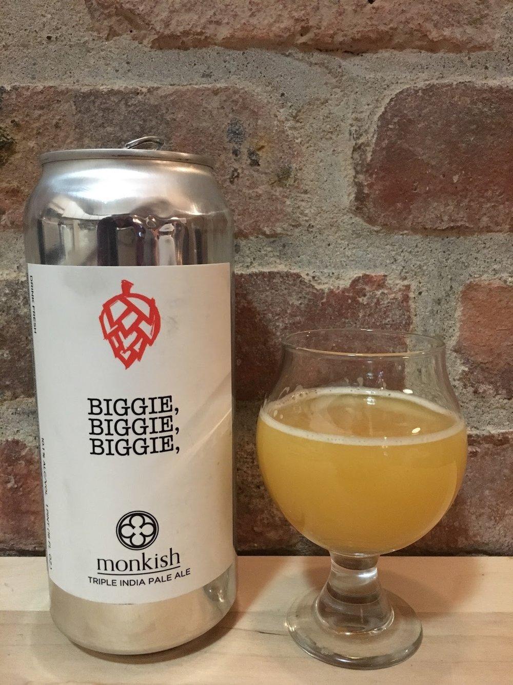 10. Monkish Brewing - Biggie, Biggie, Biggie